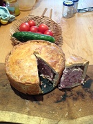 Home made pork pie